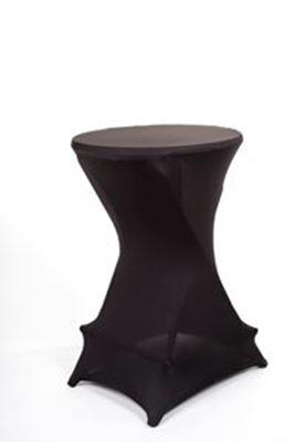 Bild på Barbord+strumpa svart 70cm dia